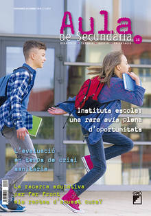REVISTA AULA SEC. CAT. - 010 (NOVEMBRE 20) - Instituts escola: una rara avis plena d'oportunitats