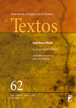 REVISTA TEXTOS - 062 (ENERO 13)- INTERTEXTUALIDAD